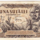 Bancnota 100 lei 5 decembrie 1947 (4), An: 1947