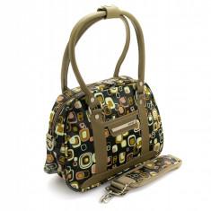 Troller - Geanta de dama LAMONZA Cosmo negru 33 cm