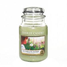 Lumanare parfumata A Child s Wish Large Jar