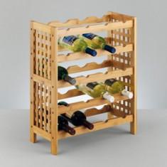 Suport sticle de vin bambus