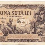 Bancnota 100 lei 5 decembrie 1947 (2), An: 1947