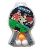 Set tenis de masa 2 palete 3 mingi Level 400 SoPo - Paleta ping pong