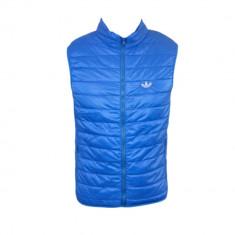 Vesta Barbati Adidas Sport Originals Model Slim Albastru Cod Produs 8002, Marime: XL, Culoare: Din imagine, Microfibra