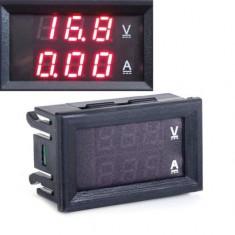 VOLTAMPERMETRU voltmetru ampermetru digital 100V 10A cabluri de conectare, shunt