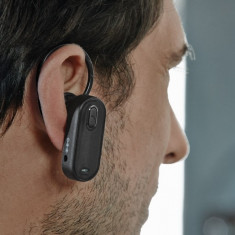 CASCA HANDSFREE BLUETOOTH - Casti Telefon, Negru, Prindere de ureche, Conectivitate bluetooth: 1