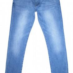Blugi barbati H&m, Lungi, Prespalat, Skinny, Normal - Blugi Conici DIVIDED - (MARIME: 33 x 32) - Talie = 92 CM, Lungime = 106 CM