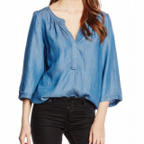 Bluza cu maneca 3/4 - Saint Tropez - art. N1120 navy blue denim