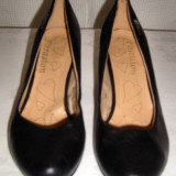 Pantofi dama, Piele sintetica - Pantof dama piele Farasion marimea 39 - OFERTA
