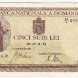 Bancnota 500 lei 2.IV.1941 filigran vertical (1)