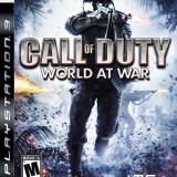 Jocuri PS3 - Vand Call of Duty World at War PS3 Ca NOU, Complet