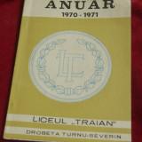 anuar 1970 - 1971 / Liceul Traian Drobeta turnu Severin - 54 pagini !!!