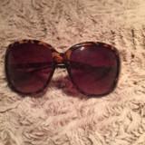 Ochelari de soare, Femei, Maro, Rotunzi, Plastic
