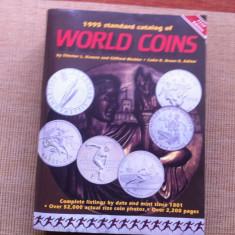 Catalog World Coins Standard Catalog of World Coins 1995 numismatica hobby