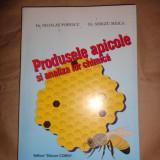 Produsele apicole si analiza lor chimica (apicultura) an 1997/216pag- N.Popescu