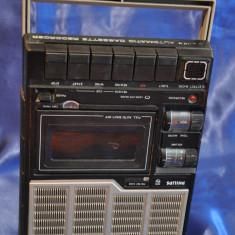 Casetofon VINTAGE Philips N2213. Functional.Automatic Cassette Recorder. Anii 70