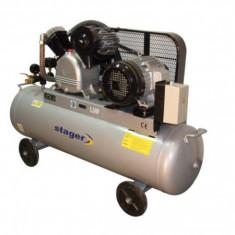 Compresor electric - Compresor de aer 125 litri Stager - V-0.40/12.5