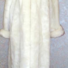 Palton dama - Haina din blana sintetica, retro, anii90