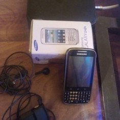 Telefon Samsung, Negru, 32GB, Neblocat, Single SIM, Single core - Samsung Galaxy Chat B5330