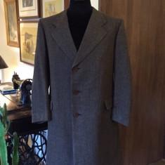 Palton barbati, XL, Lana - Palton elegant tweed barbati, mas. XL