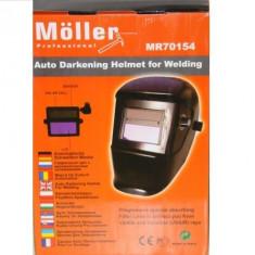 Masca de sudura Moller automata ecran LCD cristale MMA, WIG/TIG, MIG/MAG plasma