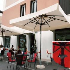 Mobila terasa gradina - Umbrela Napoli - cu schelet de aliaj metalic usor 3x4 m - Sco3040NT