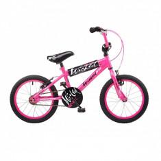 Bicicleta BMX, 16 inch, 16 inch, Numar viteze: 1 - Bmx pentru copii pe 16 si 18 inch culoare roz