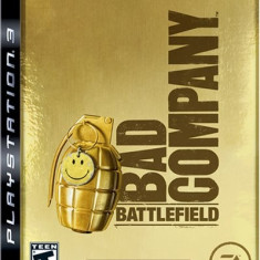 PS3 Battlefield Bad Company GOLD EDITION joc original PLAYSTATION 3 ca nou - Jocuri PS3 Ea Games, Shooting, Toate varstele, Multiplayer