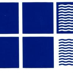 Unghii modele - Set 12 sabloane vinyl ''Wave''