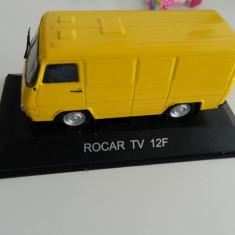 Macheta auto, 1:43 - Macheta masinuta, DeAgostini, ROCAR TV 12F, scara 1:43, masini de legenda nr. 17