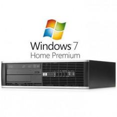 Copiator Color - Calculatoare Refurbished HP Compaq 8000 Elite SFF E6500 Windows 7 Home