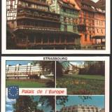 Lot 6 ilustrate, STRASBOURG, necirculate, Fotografie, Europa