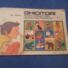 GHICITORI PENTRU CUNOASTEREA MEDIULUI INCONJURATOR - Carte cu ghicitori pentru copii