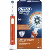ORAL-B Periuta electrica PRO 400 Cross Action Orange