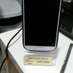Telefon mobil Samsung Galaxy S4, Alb, 16GB, Neblocat, Single SIM - Samsung I9515(LM01)