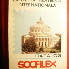 Catalog Socfilex 1979 -Expozitia Filatelica Internationala