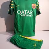 Set echipament fotbal - ECHIPAMENTE PORTAR COPII FC. BARCELONA -TER STEGEN SET FOTBAL marimea 104-116