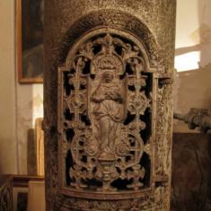 Metal/Fonta - Soba antica de fonta, piesa veche decorativa si functionala, Godin