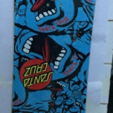 Placa snowboard SANTA CRUZ SCREAMING HAND 155cm allover model 14/15 - Placi snowboard
