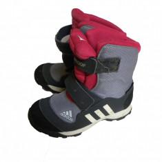 Bocanci copii Adidas, Fete, Textil - Bocanci Ghete Adidas Primaloft Outdoor Drumetii Fete Fetite  Copii - Marime 30