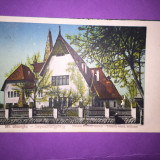 Sfantu Gheorghe - Muzeul - Carte Postala Transilvania 1904-1918, Circulata, Fotografie