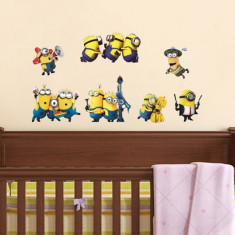 Tapet copii - Sticker perete Minions autocolant copii