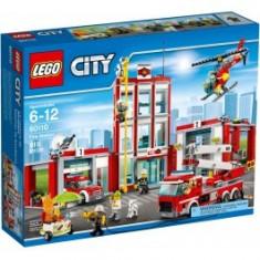 LEGO® City Remiză de pompieri 60110