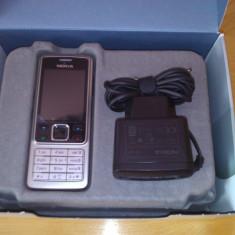 Telefon mobil Nokia 6300, Argintiu, Orange - Telefon Nokia 6300 argintiu, second hand