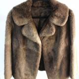 Palton dama - Haina de blana naturala second-hand, provenienta SUA (F009)