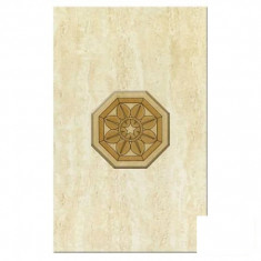 Faianta decorativa Cesarom Colosseum beige geometric - 40 x 25 cm