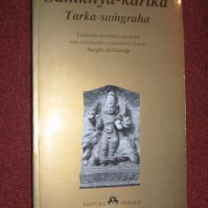 Tarka Samgraha - Samkhya - Karika - Sergiu Al.- George - Carti Hinduism