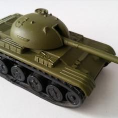 Jucarie de colectie - Jucarie veche comunista, vehicul militar rusesc blindat, tanc T 54 55 URSS Rusia