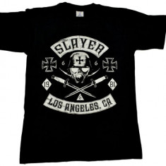 Tricou barbati - Tricou Slayer - cruce fier - Los Angeles, CA .