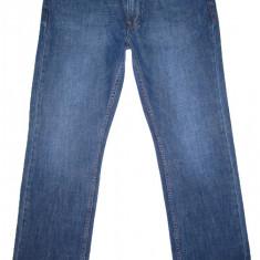 Blugi MUSTANG - (MARIME 33 x 34) - Talie = 85 CM, Lungime = 116 CM - Blugi barbati Mustang, Culoare: Albastru, Cu rupturi, Drepti, Normal