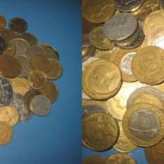 Set 133 Monede moderne Franta Belgia, Italia etc.